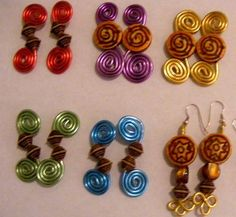Dollar Store Crafts » Blog Archive » Make Earrings From Floral Wire