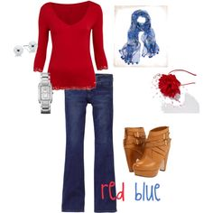 red blue creation :)