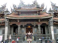 Main entrance to Zushi Temple in Sanxia. #Taipei #Taiwan #Travel