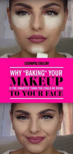 "You're already familiar with contouring and are wrapping your head around strobing, but now ""baking,"" or ""cooking"" your makeup is making itself a part of the mix, cropping up on YouTube tutorials everywhere.  The term, which has been used in the drag community for years, refers to letting translucent powder sit on your face for five to 10 minutes, which allows the heat from your face to set your base foundation and concealer, and then dusting it off your face, leaving you with a creaseless…"