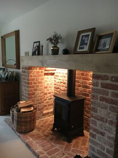 This is a Chesney Beaumont 6 Kw stove in black which we installed for a very happy customer.