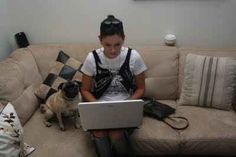 The World Wide Web has become a source of communication for them. | 17 Reasons We Know Pugs Are Taking Over The World