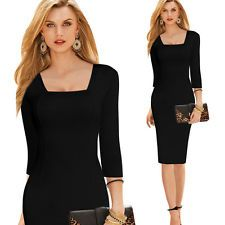 Sexy Women Evening Party Cocktail Party Clothes Dinner Long Sleeve Dress Bodycon