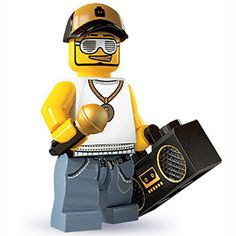 LEGO Minifigures Series 3 15-16 - Rapper