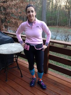 RB Ambassador, Kelly, sporting her H2O and Buddy Pouch!