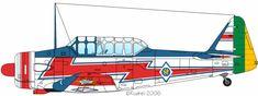 T-6D, Esquadrilha da Fumaça