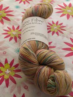 Phat Fiber Sample Box: Quaere Fibre sock yarn giveaway!