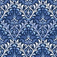 In Begin Avalon Wm Morris Artichoke Trellis Blue