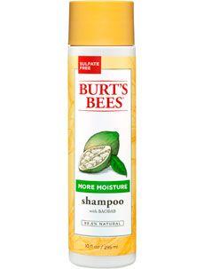 #natural #beauty Burt's Bees More Moisture Baobab Shampoo