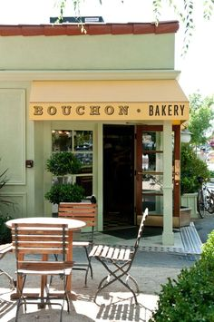 BOUCHON BAKERY, Yountville, wine country California