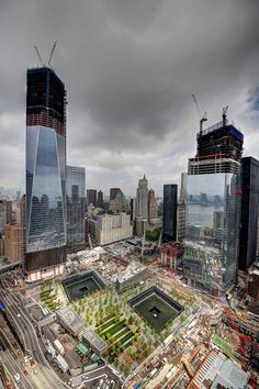 NYC. New World Trade Center on the rise.