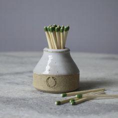 Milk Bottle Match Striker – Farmhouse Pottery