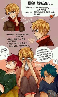 Natsu and Lucy's son