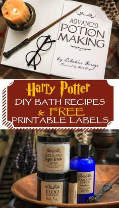 Harry Potter themed bath and body gift ideas for Halloween treats, birthday part., DIY and Crafts, Harry Potter themed bath and body gift ideas for Halloween treats, birthday party favors or teacher gifts. Simple DIY recipes to make for your Muggles. Baby Harry Potter, Harry Potter Potions, Harry Potter Bedroom, Harry Potter Gifts, Harry Potter Birthday, Harry Potter Bathroom Ideas, Funny Baby Gifts, Diy Baby Gifts, Easy Diy Gifts