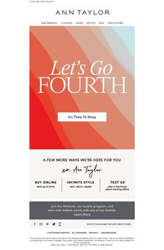 ann_taylor1 Email Design Inspiration, Email Newsletters, How To Know, Letting Go, Ann, Let It Be, Lets Go, Move Forward