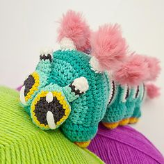 Ravelry: Calliope the Caterpillar pattern by Projectarian