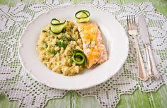 Silja, Food & Paris: Quinoa ahjulõhe ja sooja sidrunikastmega