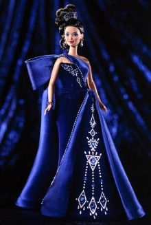 Sapphire Splendor™ Barbie® Doll Barbie Designers - View Collectible Barbie Dolls By Famous Designers | Barbie Collector