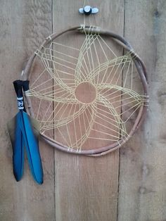 whirlwind - Dreamcatcher. I really want to make my own dream catcher this would be an awesome pattern to try!