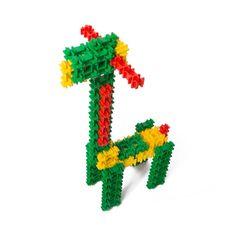 Один из самых маленьких представителей животного мира планеты Фанкластик прибыл к нам со своим старшим братиком жирафом Тоангой. Малютка Жираф живёт в зоопарке вместе с другими Фанкластиками, которых ты можешь собрать из набора «Зоозаврика». Длинные, необыкновенно чуткие уши Жирафа и красно-желто-зелёная окраска позволяют использовать его в качестве светофора, автоматически штрафующего водителей за слишком шумную езду. #фанкластик #наборстартика #купить #fanclastic #конструктор #игрушка