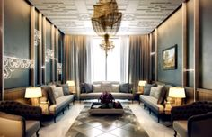 Modern Classic Living Room Interior Design