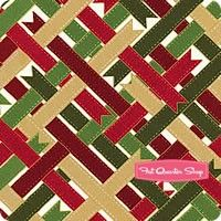 Suite Christmas Metallic Gold Woven Ribbons Yardage SKU# 2786-01