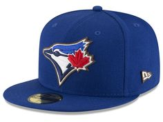 Toronto Blue Jays New Era MLB Classic Leather Outline 59FIFTY Cap