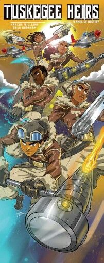 Tuskegee Heirs banner art
