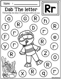 Free Alphabet Dab by Miss Faleena | Teachers Pay Teachers