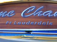 #TRANSOM: Game Changer, Ft Lauderdale #Boat #Transom #BoatTransom  TRANSOM #TECHNIQUE: #FauxTeak #CustomBoatLettering   #BOAT #BUILDER #BoatBuilder: #VikingYachts, #NewGretna, #NewJersey