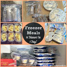 Happily A Housewife: Meal Prep | Freezer Meals