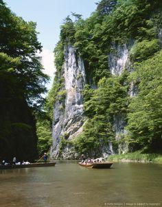 Japan, Iwate Prefecture, Geibikei Gorge