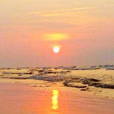 Tybee Island sunrise…so peaceful.