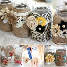 Doily Mason Jars Are A Quick And Easy Craft | The WHOot