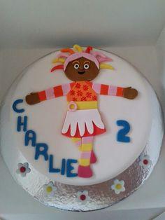 Upsie daisy cake