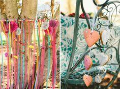 Wedding-streamer-decorations #wedding #backdrop #fabricstreamers