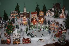 Christmas village.