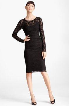 Dolce&Gabbana Lace Dress | Nordstrom