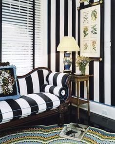 Stripes & patterns go together great !!