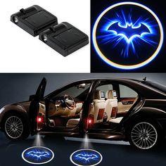 Wireless Batman Light Car Door LED Laser 2pcs
