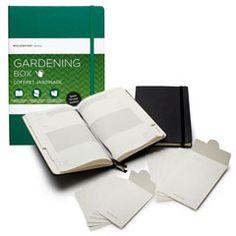 moleskine ギフトボックス【ガーデニングボックス】  植物を愛するあの人へ情熱を詰め込んだギフトボックス