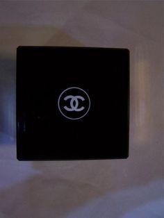 CHANEL COCO Luxury Body Creme 6.8 oz EMPTY Jar Container Prop Black Gold #CHANEL