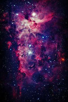 Туманность Эты Киля (NGC 3372, ESO 128-EN13) в созвездии Киль / Carina Nebula (Great Nebula in Carina, the Eta Carinae Nebula, Grand Nebula) in the constellation Carina