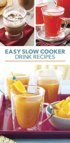 Slow Cooker Drink Recipes from Taste of Home