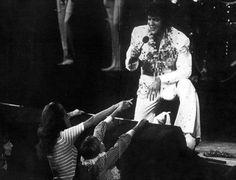 "Elvis Presley ""Aoha, From Hawaii"" satellite broadcast, January 1973 Elvis Aloha From Hawaii, Aloha Hawaii, Elvis Presley Concerts, Elvis Presley Photos, Rock And Roll, Show Ao Vivo, Memphis Mafia, King Of Music, Psychobilly"