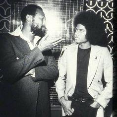 Marvin Gaye, Michael Jackson