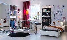 I like it!! Mature and cool #teenage #room!