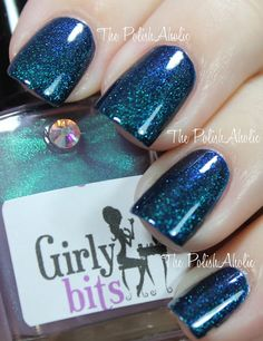Girly Bits Cosmic Ocean (over Illamasqua Phallic)
