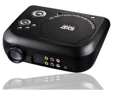 TS-2880 Portable DVD Projector LED Projector