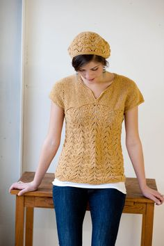 Knit Pattern: Homa Pullover by KristenTenDykeDesign on Etsy